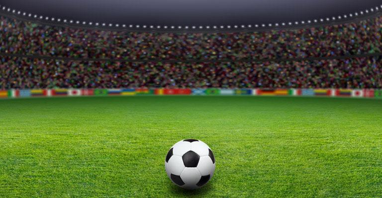Soccer Stadium Wallpaper Wall Decor 768x399