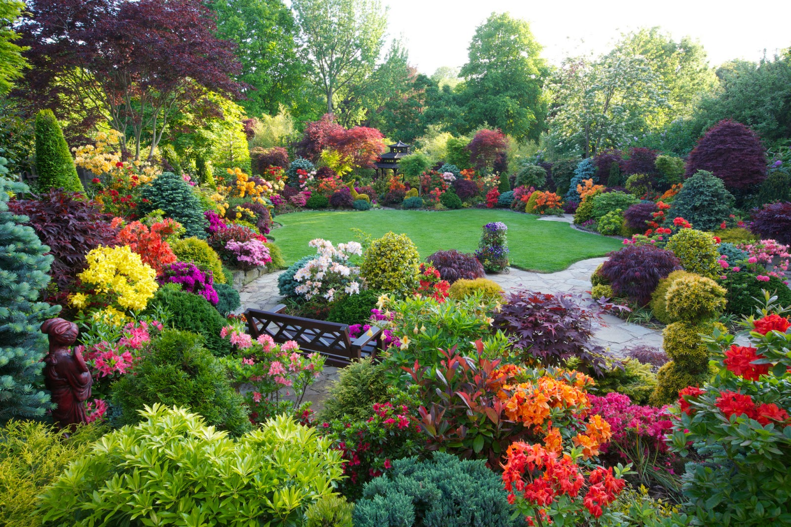 Four Seasons Garden   The most beautiful home gardens in the world 1600x1067