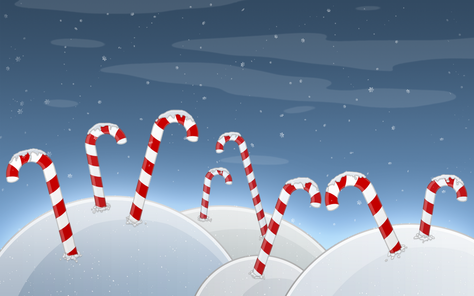 Christmas Candy Cane Wallpapers [HD] 1600x1000