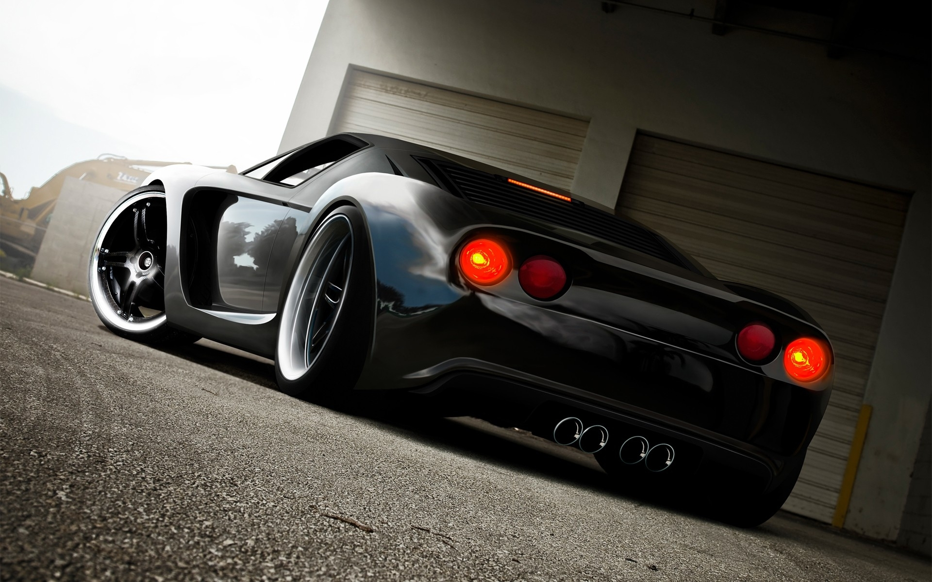 GT DZCP supercar exotic cg digital art tuning wallpaper background 1920x1200