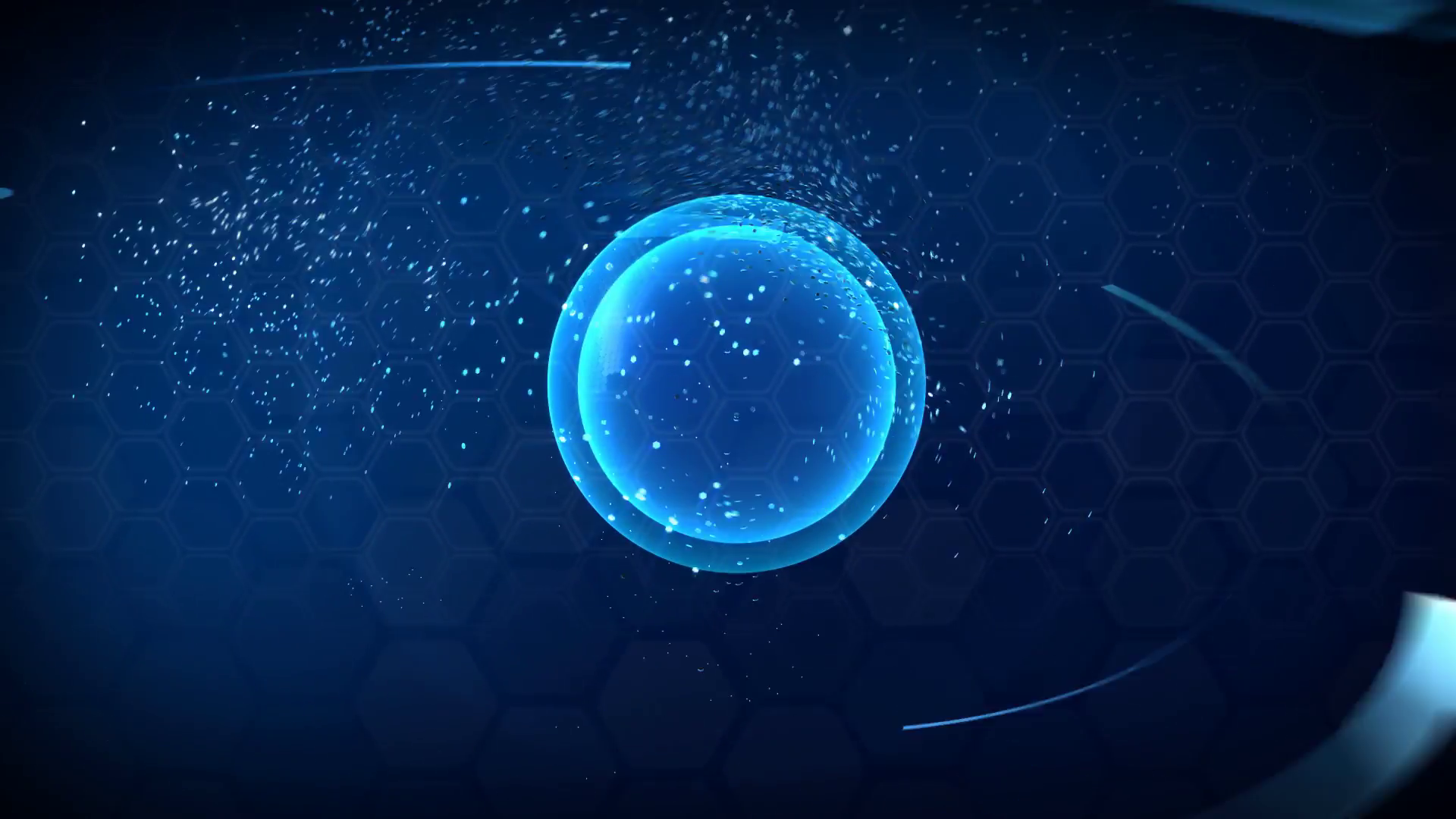 3D Computer generated globe animation Suits for a news 1920x1080