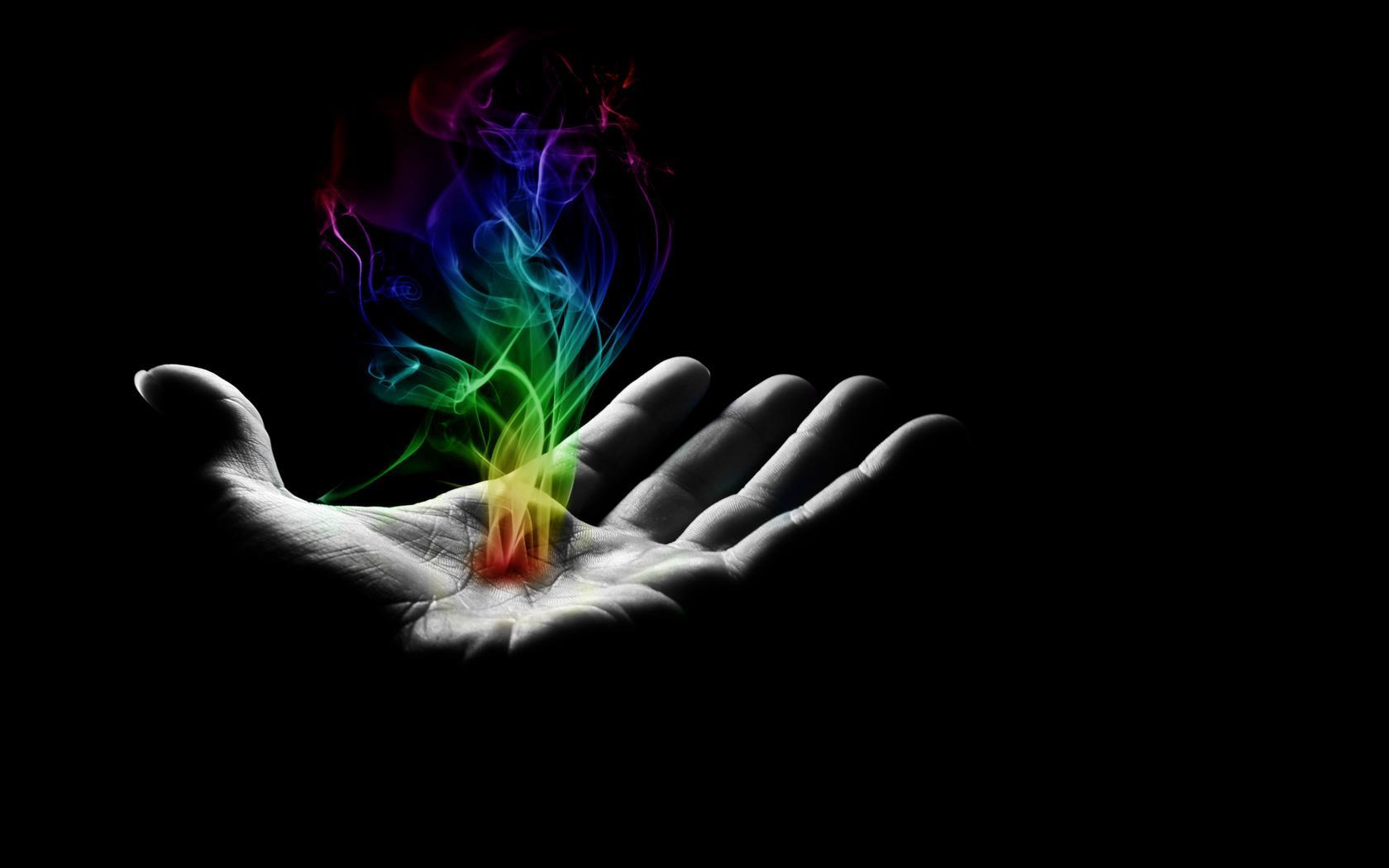 colorful 181 hand 101 smoke 107 background 465 1680x1050
