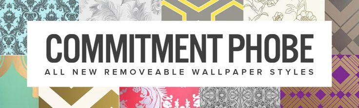 Removable Wallpaper Renters Pinterest 736x222