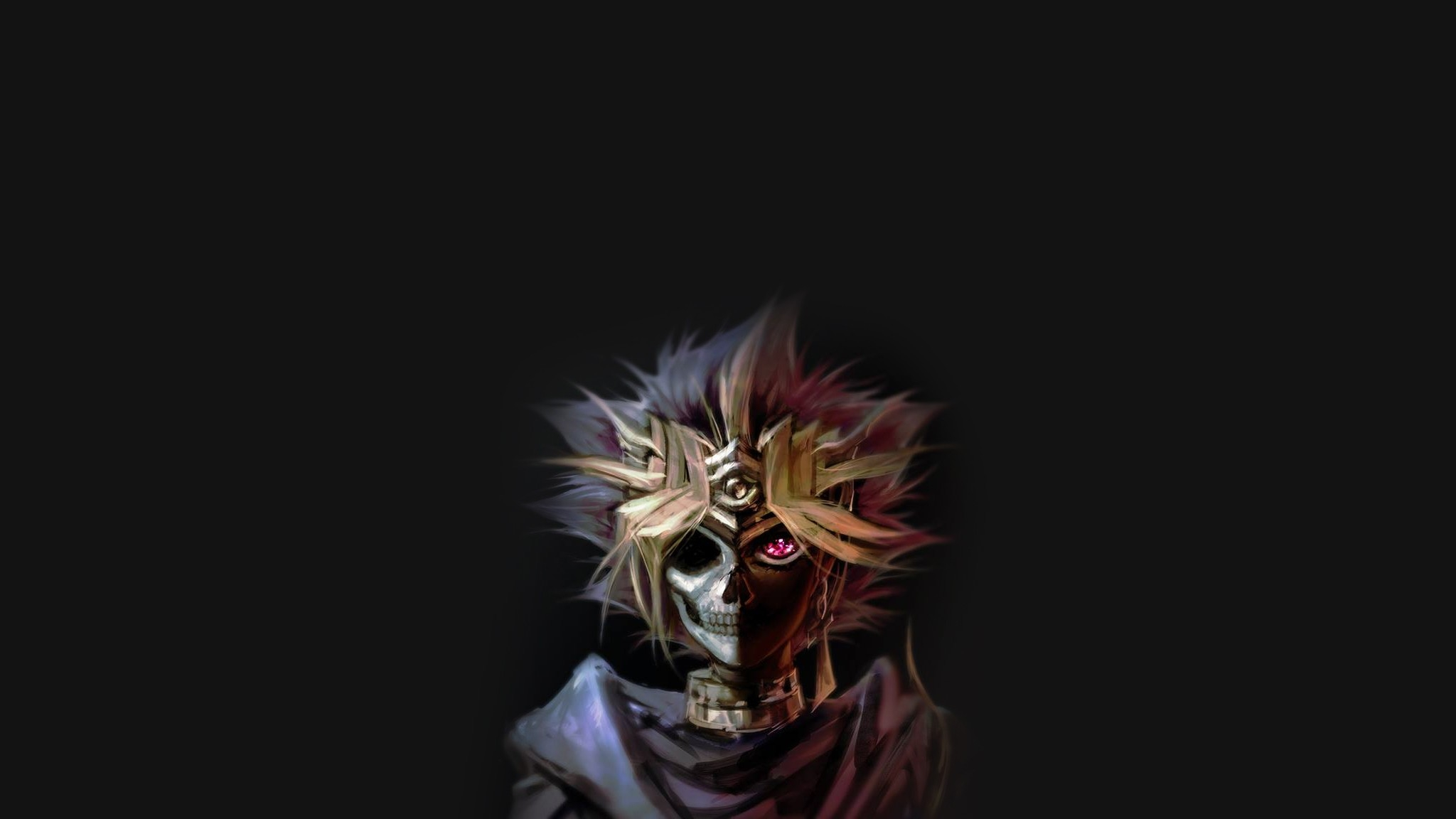 Download 2048x1152 Yu gi oh Yami Yugi Skull Cape 2048x1152