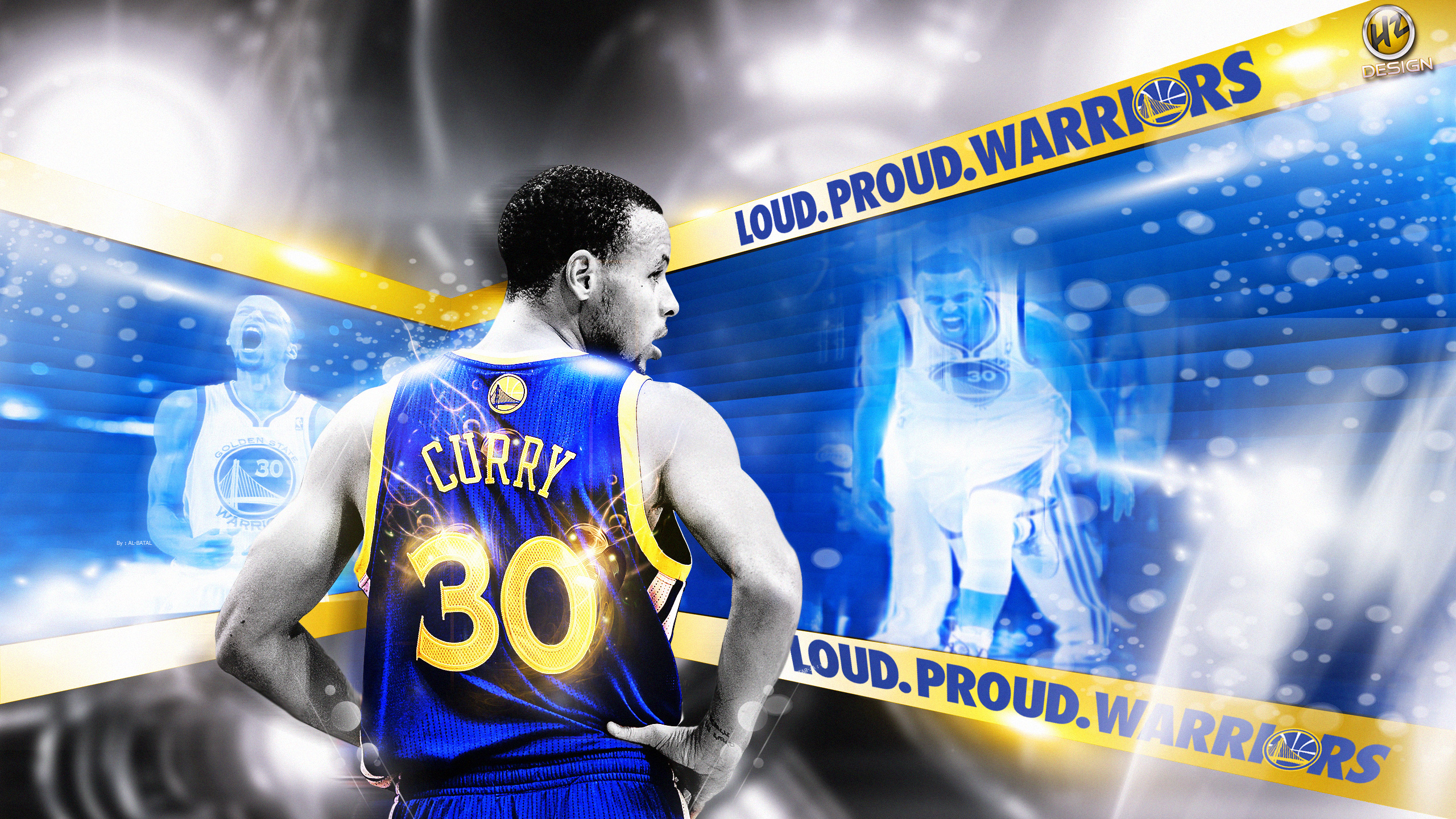 Stephen Curry 2014 Playoffs 25601440 Wallpaper 2560x1440