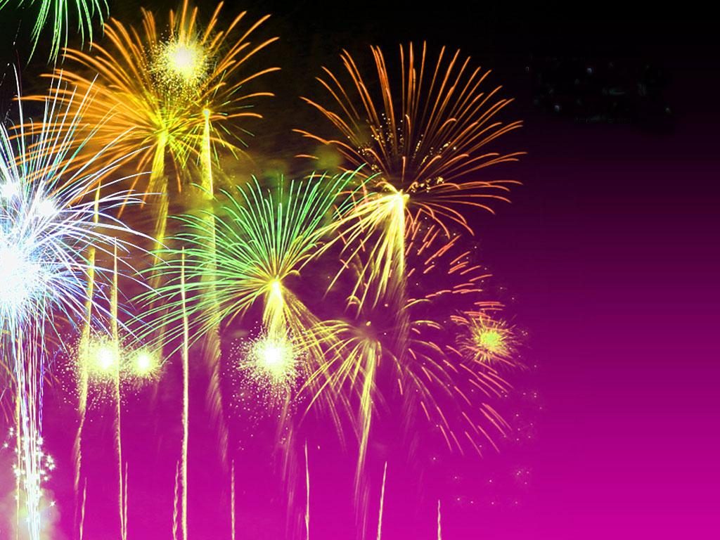 Diwali Pataka And Festival Celebration: Moving Fireworks Wallpaper