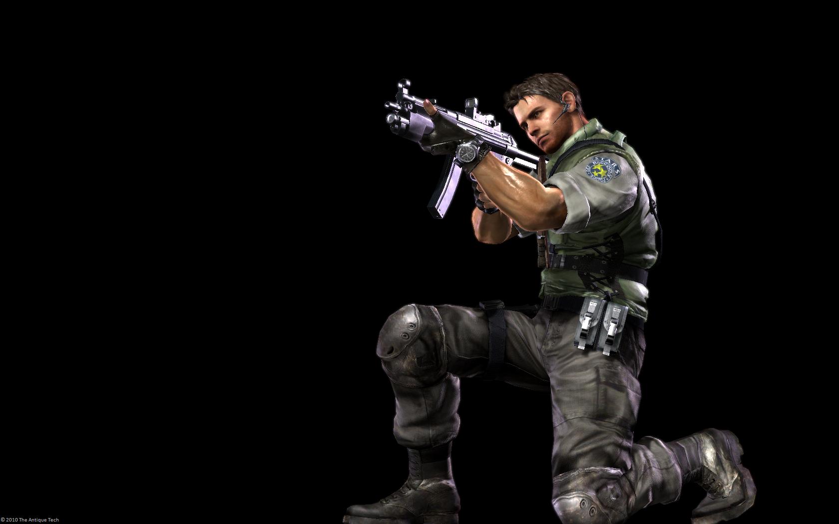 Desktop Wallpapers Resident Evil 5 Characters 1680x1050