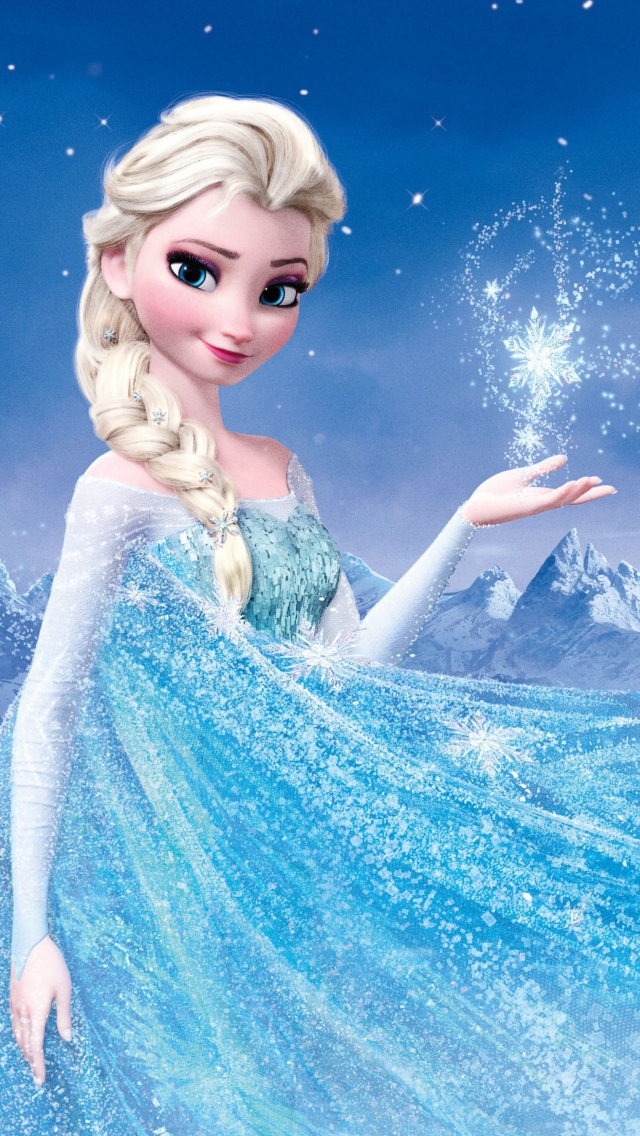 Iphone wallpaper disney wallpapersafari - Frozen cartoon wallpaper ...