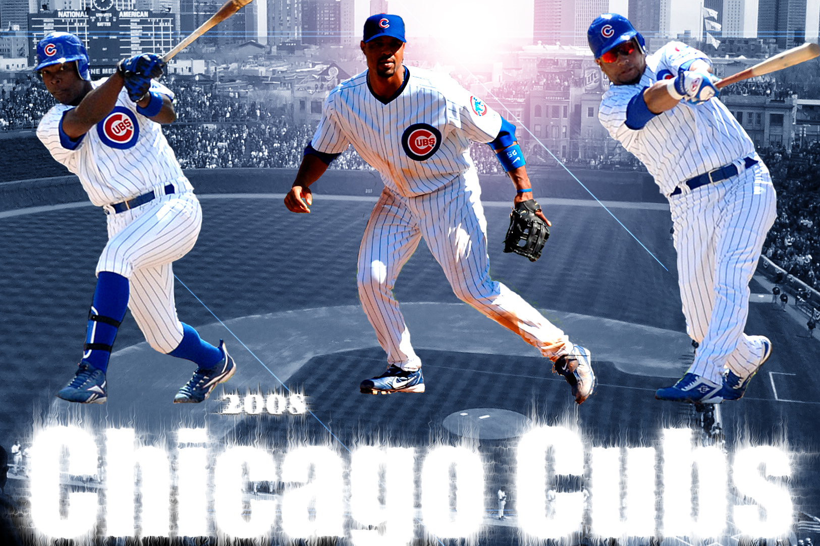 2008 chicago cubs wallpaper by chicagosportsown fan art wallpaper 1625x1083