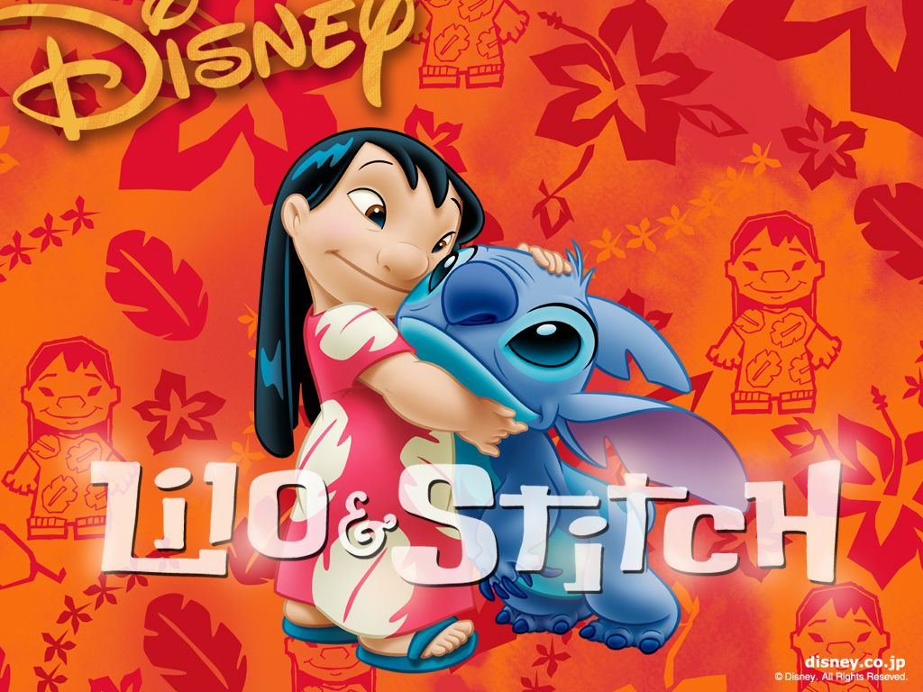 Lilo snd Stitch Wallpaper 1024x768