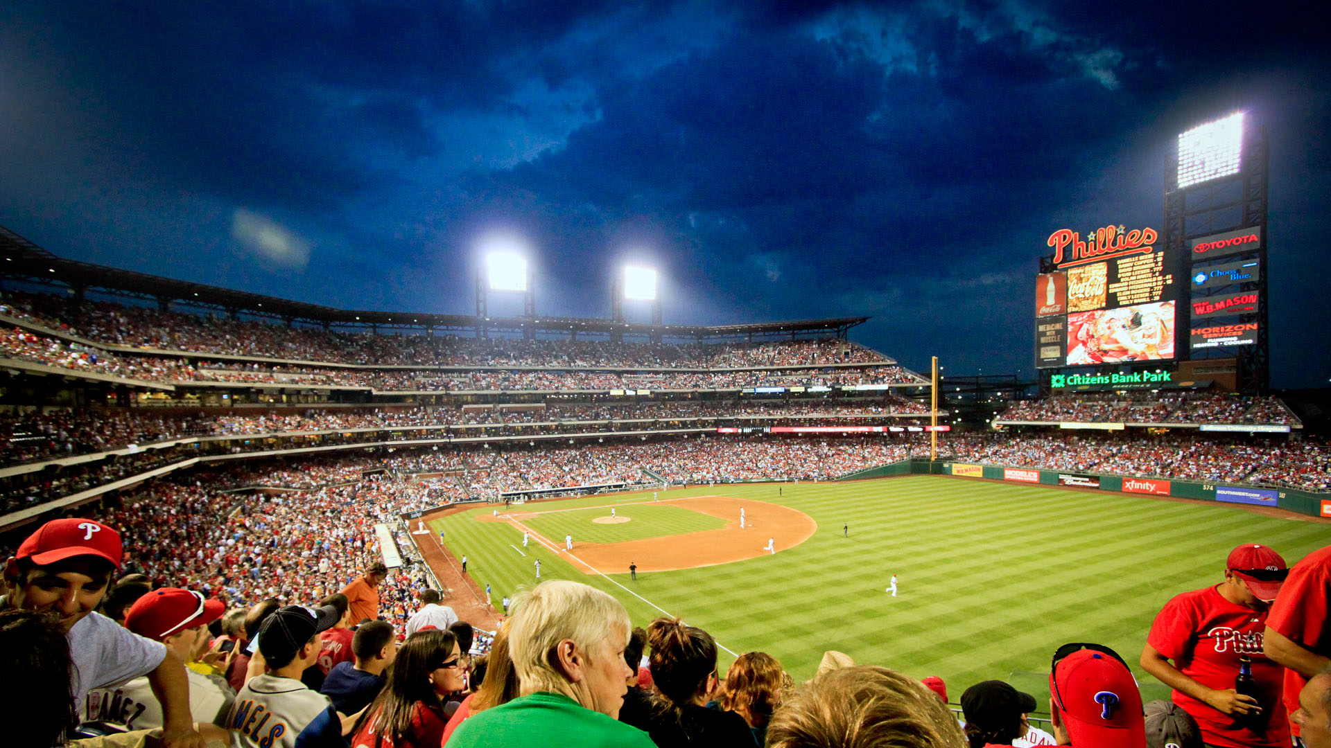 Philadelphia Phillies Browser Themes Desktop Wallpaper for Phanatics 1920x1080