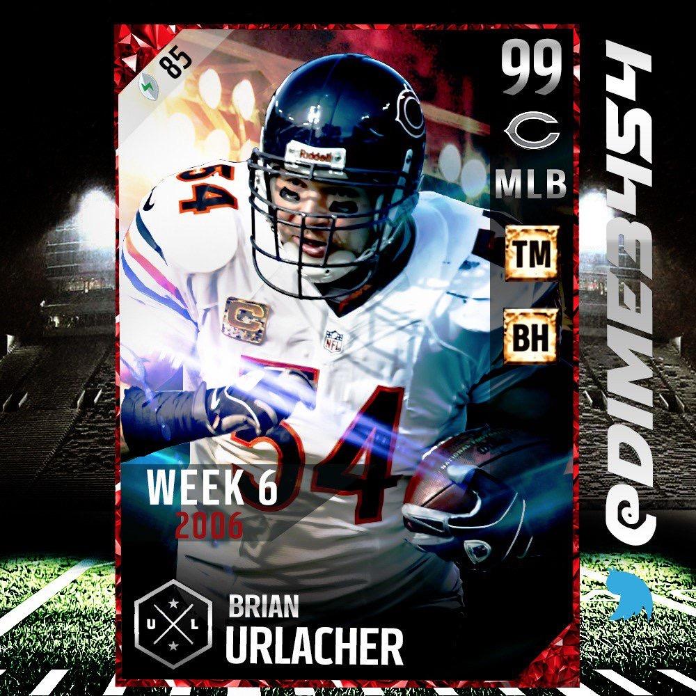 Brian Urlacher  Ultimate Legend   Kick American Football Hd 1000x1000