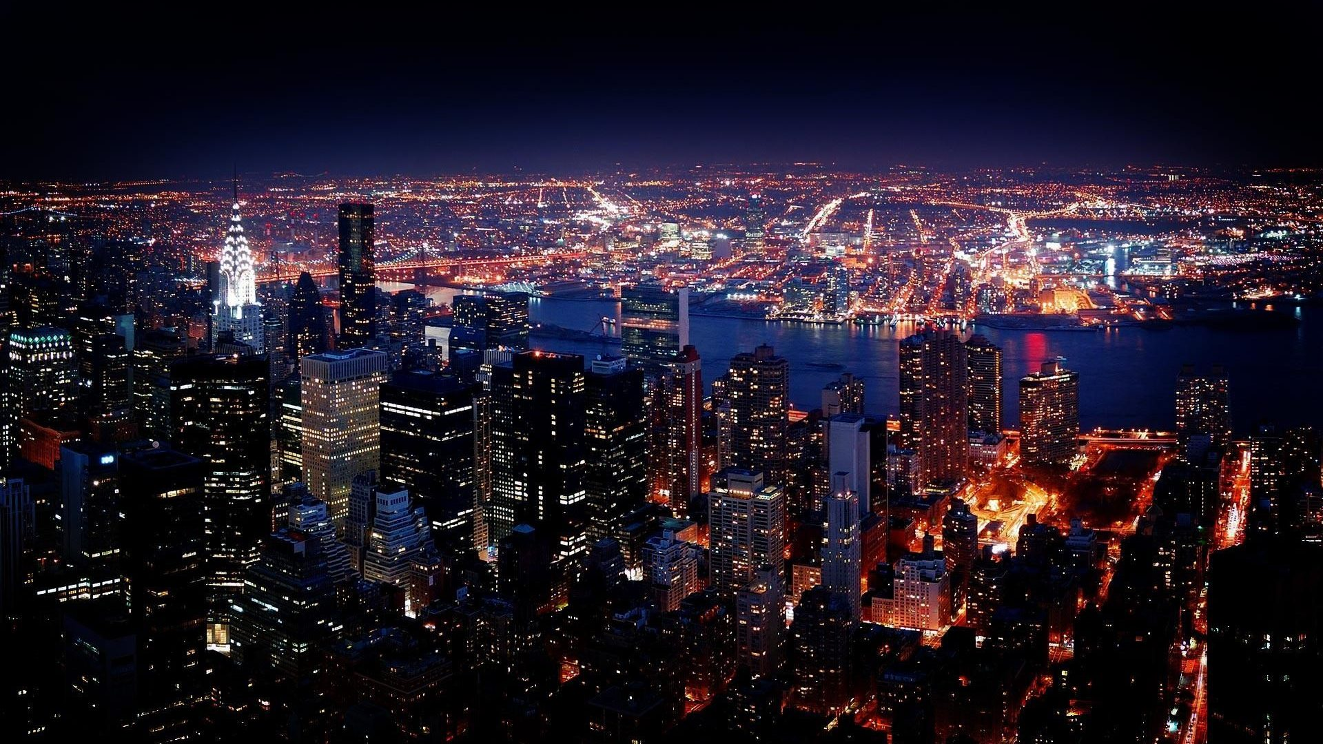 Free Download New York At Night Wallpapers Hd 1920x1080 Oni