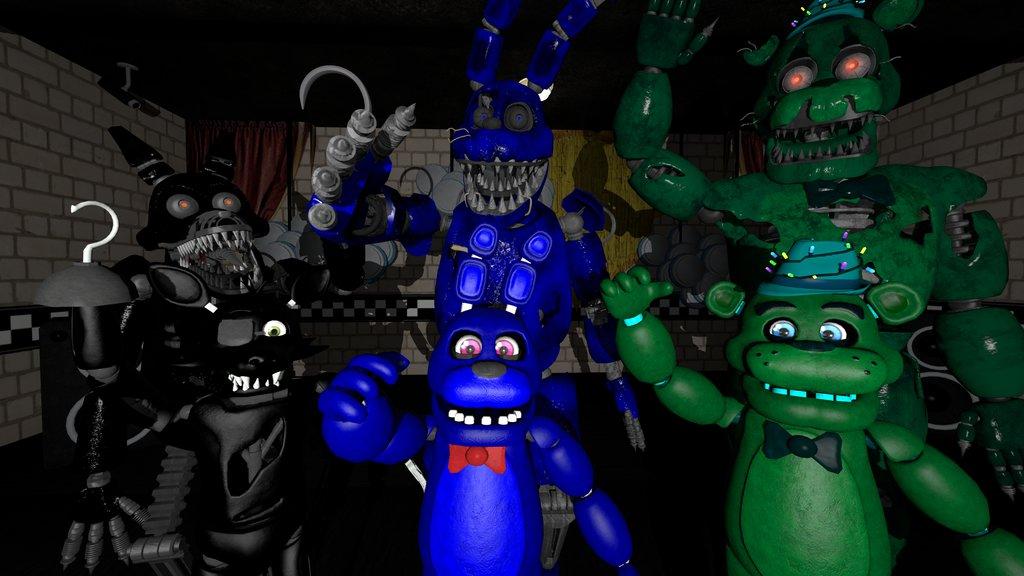 Hey Kids SFM FNAF Wallpaper by MonsterKirby 1024x576