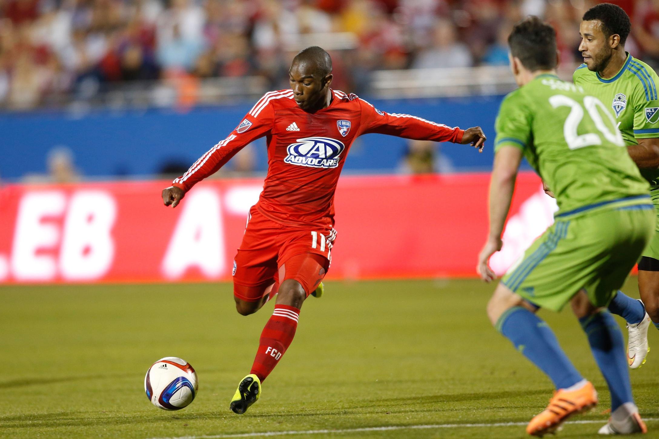 fc dallas seattle sounders 600x399 FC Dallas stays atop MLS despite