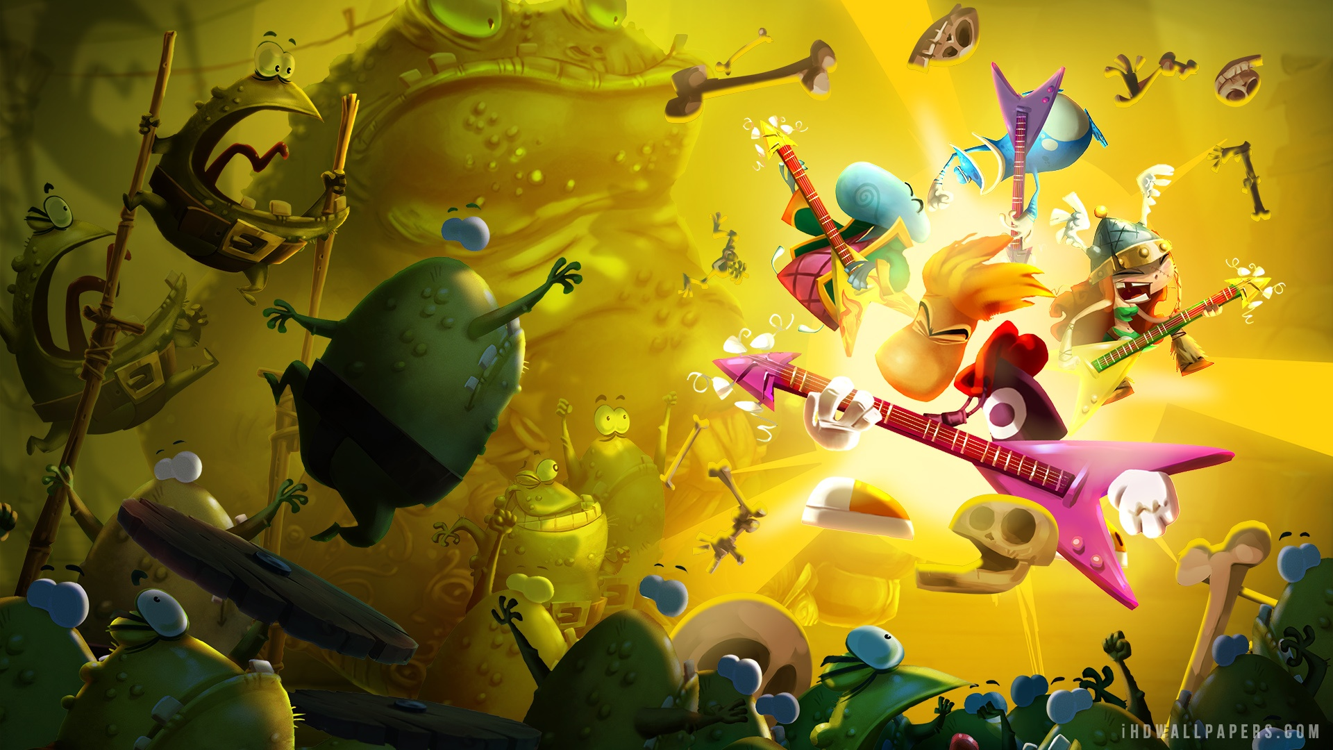 Download Rayman Legends Rock n Roll wallpaper from the following 1920x1080