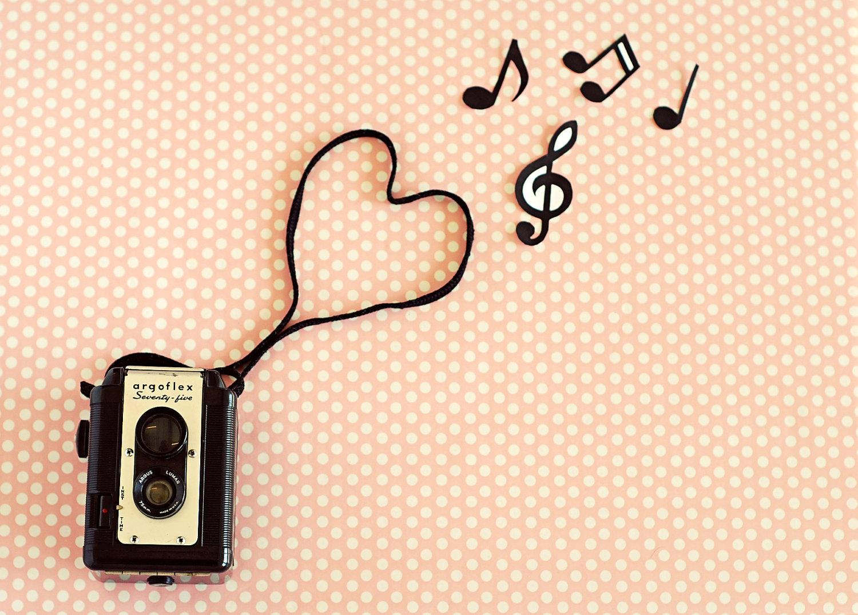 Wallpaper Retro Pink Music Vintage Photography Art Wallpaper 1500x1075