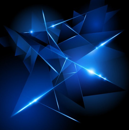 Free download Dark Blue HI TECH Abstract Background Vector 02