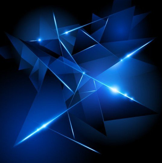 Dark Blue HI TECH Abstract Background Vector 02 537x542