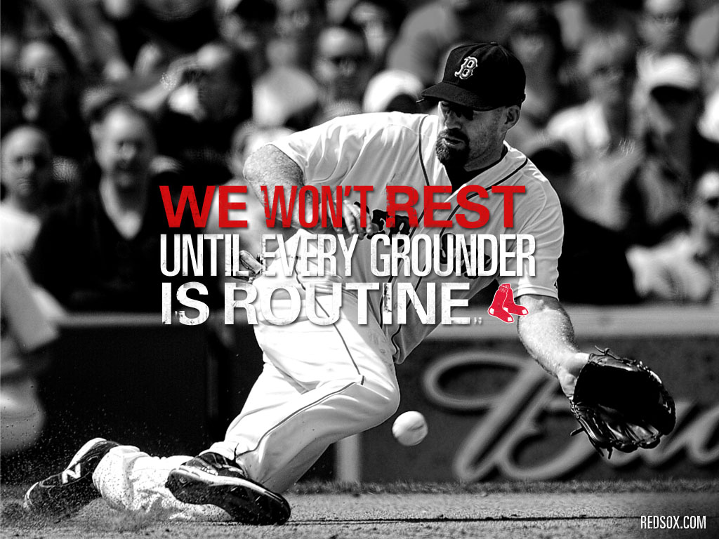 We Wont Rest Boston Red Sox 1024x768