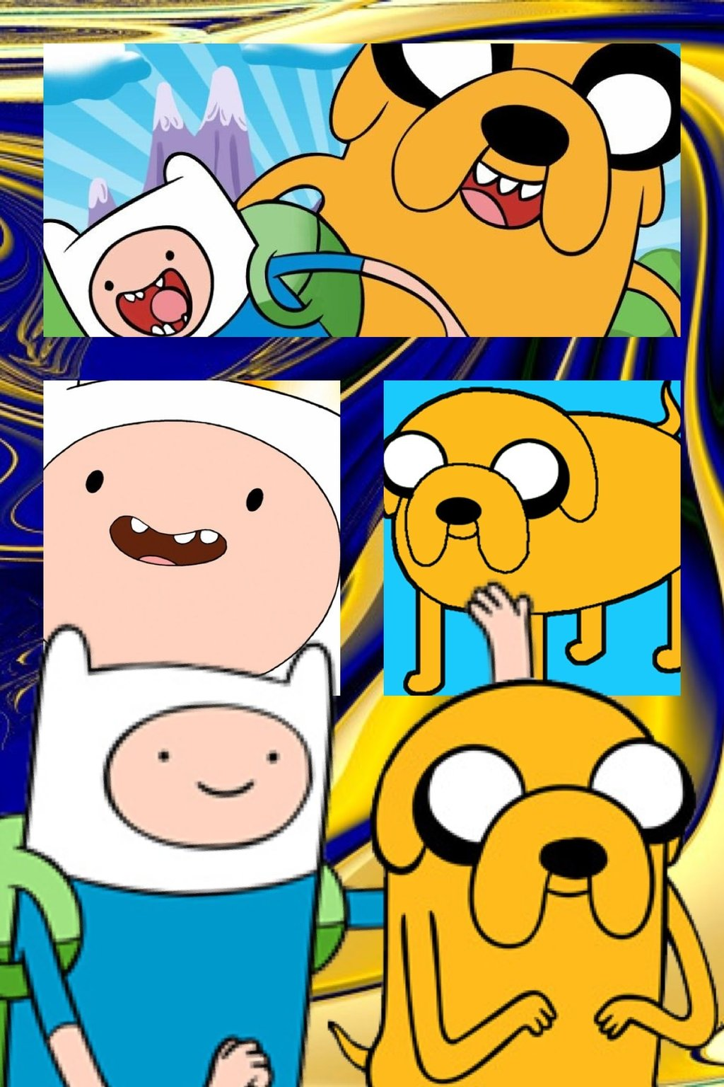 Finn and jake wallpaper by mightymack1000 1024x1536