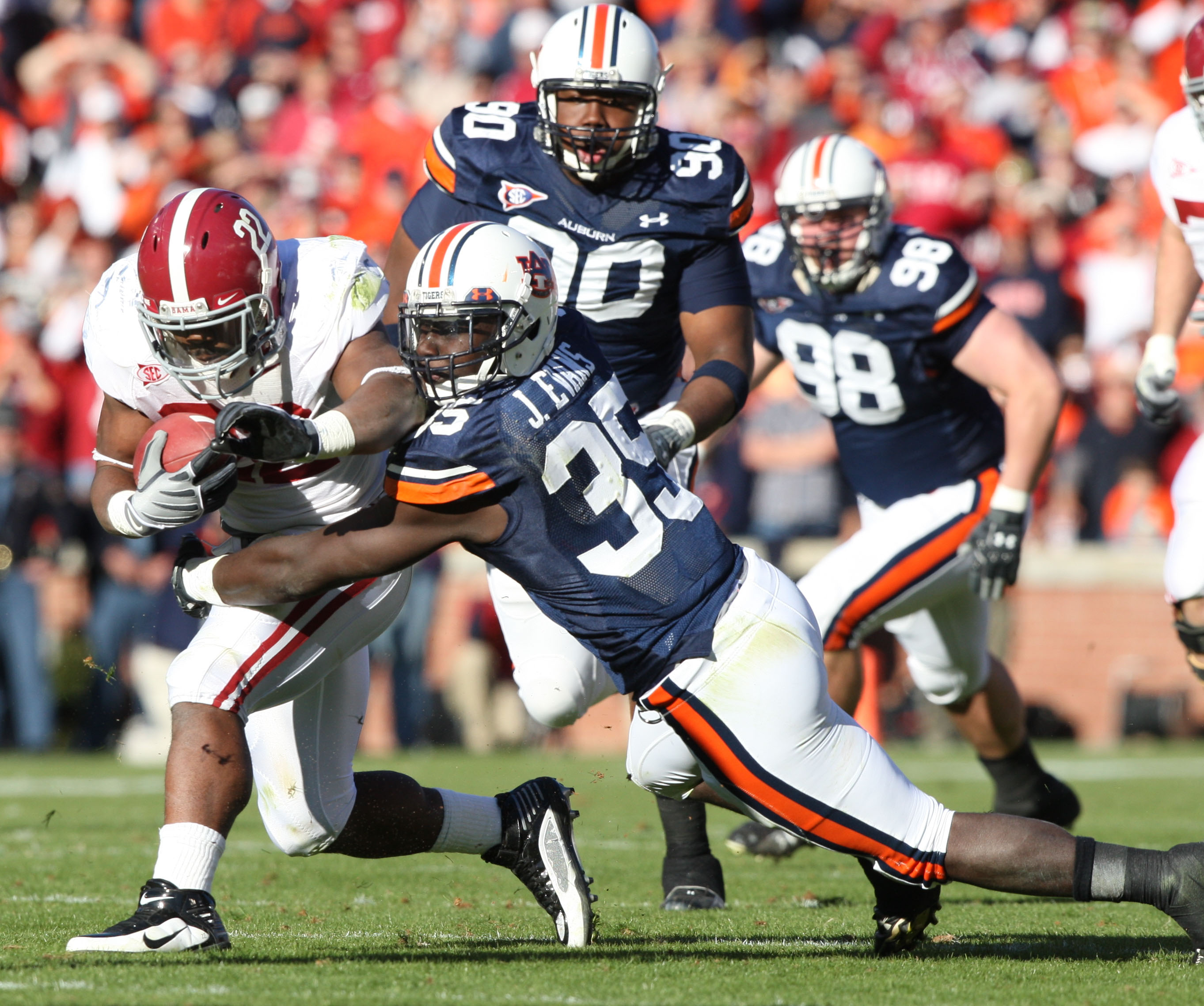 Football AlabamaAuburn Iron Bowl 2009 Courtesy Of UA Capstone Us 2725x2277