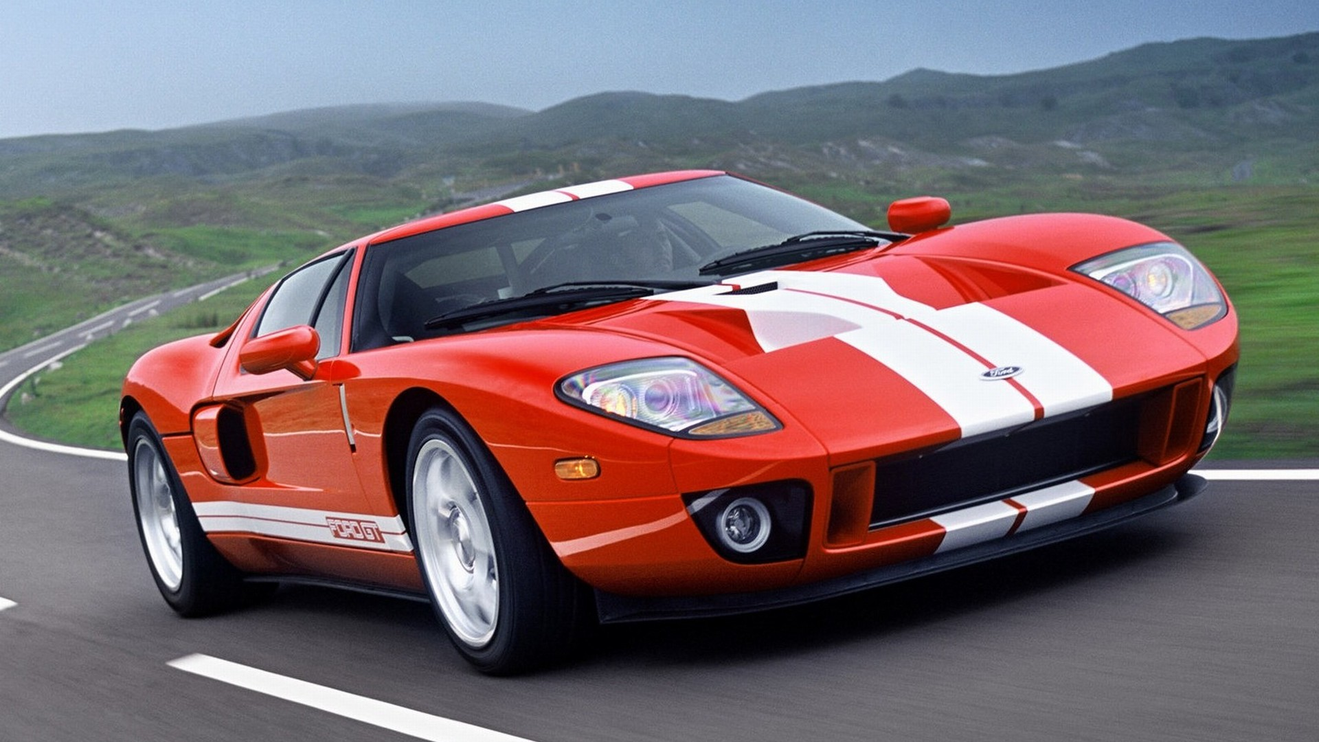 Ford GT 2005 01 1920x1080 WallpapersFord GT 1920x1080 Wallpapers 1920x1080