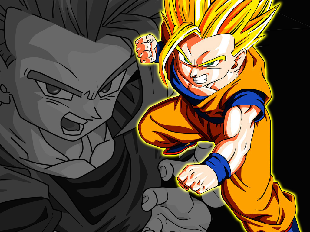 Free Download Teen Gohan Super Saiyan 2 Wallpaper 1024x768 For