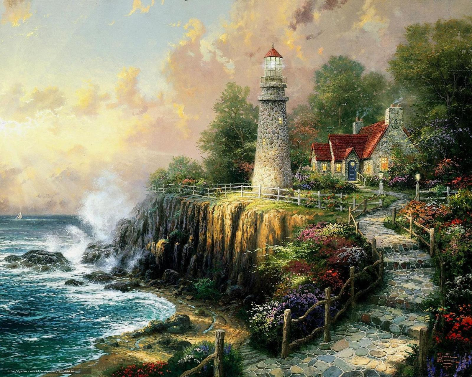 Thomas Kinkade Wallpaper and Screensavers - WallpaperSafari