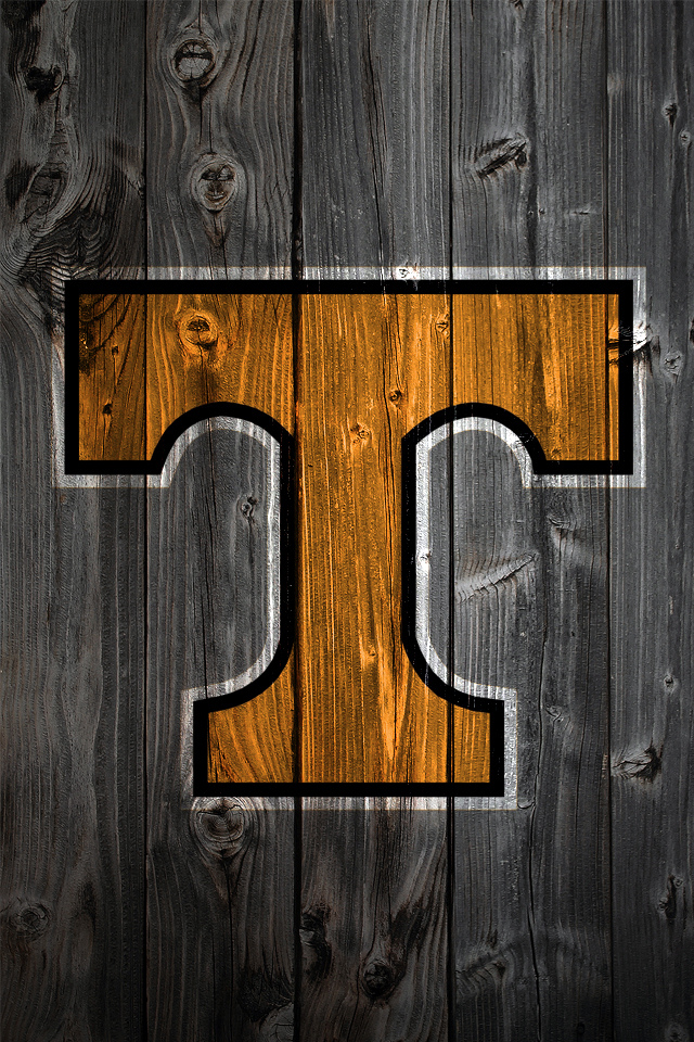 Tennessee Volunteers Wood iPhone 4 Background Flickr   Photo Sharing 640x960