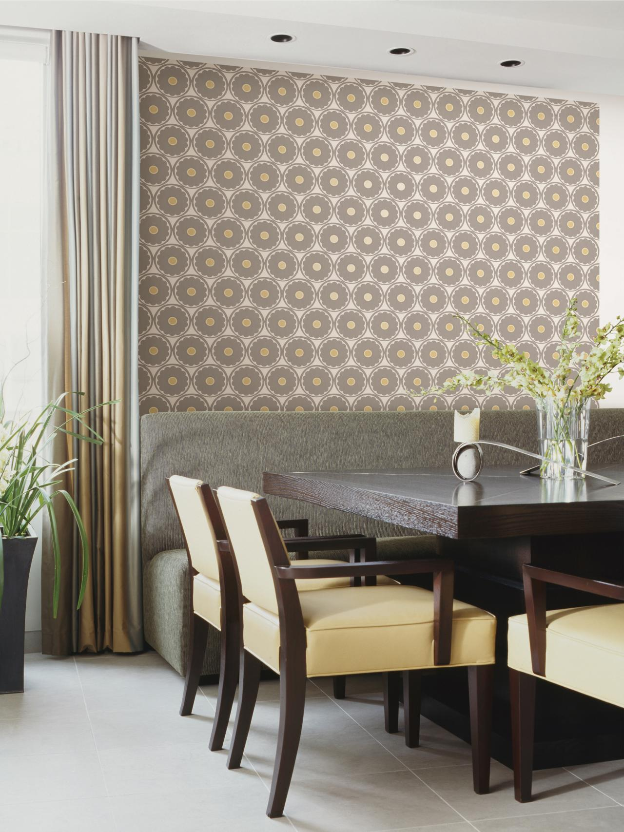 Vintage Wallpaper Ideas Interior Design Styles and Color Schemes for 1280x1707