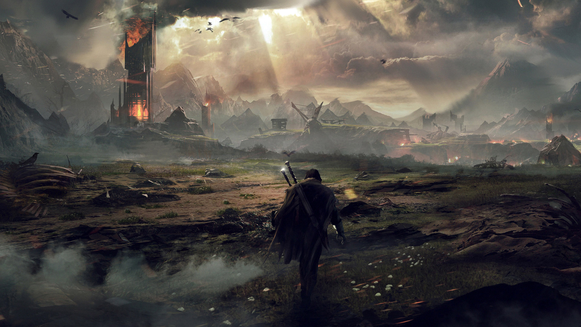 Free download Middle Earth Shadow of Mordor Game Wallpaper ...