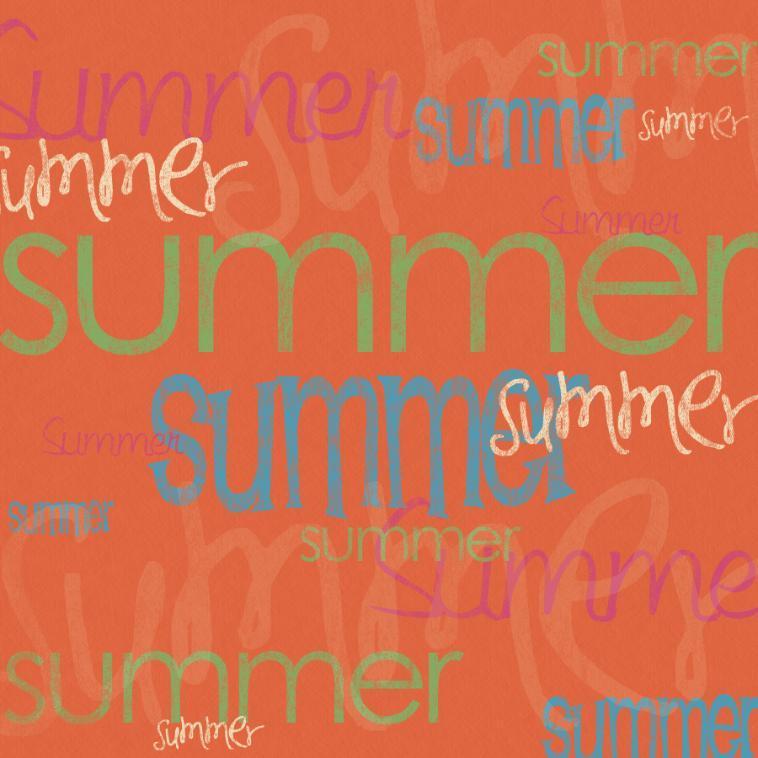 Orange Summer Twitter Backgrounds Orange Summer Twitter Themes 758x758