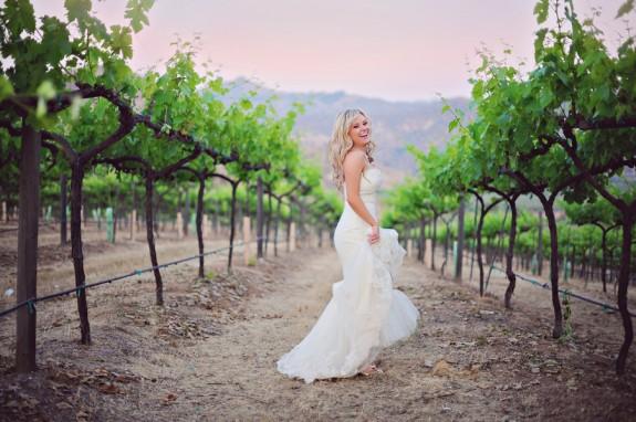 Vibrant Orfila Winery Wedding in California by Arina B Photography 575x382