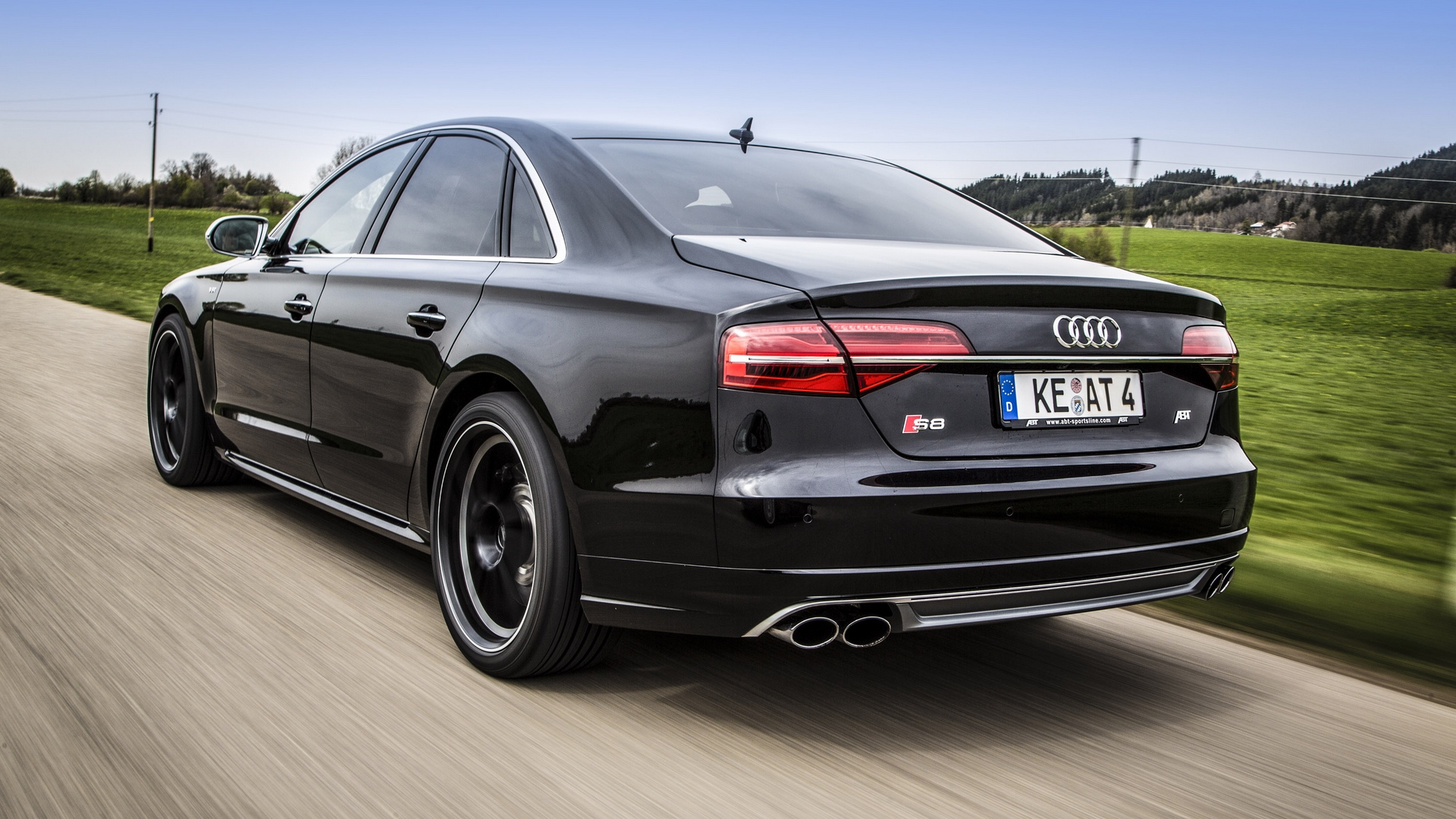 Download wallpaper 1920x1080 audi s8 abt sportsline abt tuning 1920x1080
