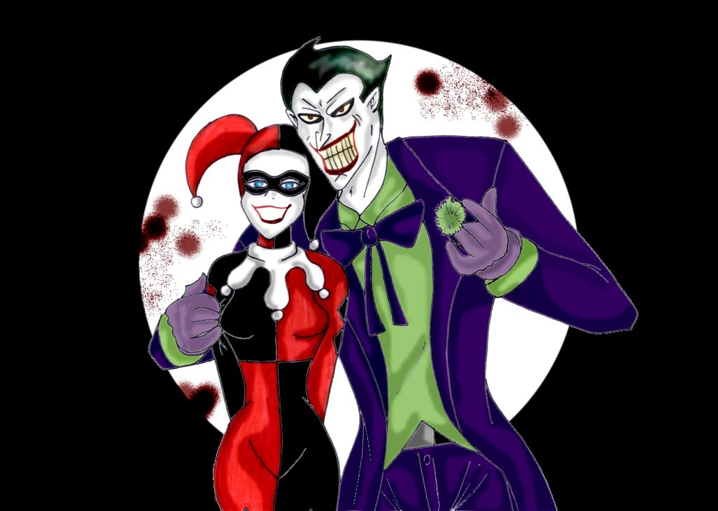 1026x730px Harley Quinn And Joker Wallpaper Wallpapersafari