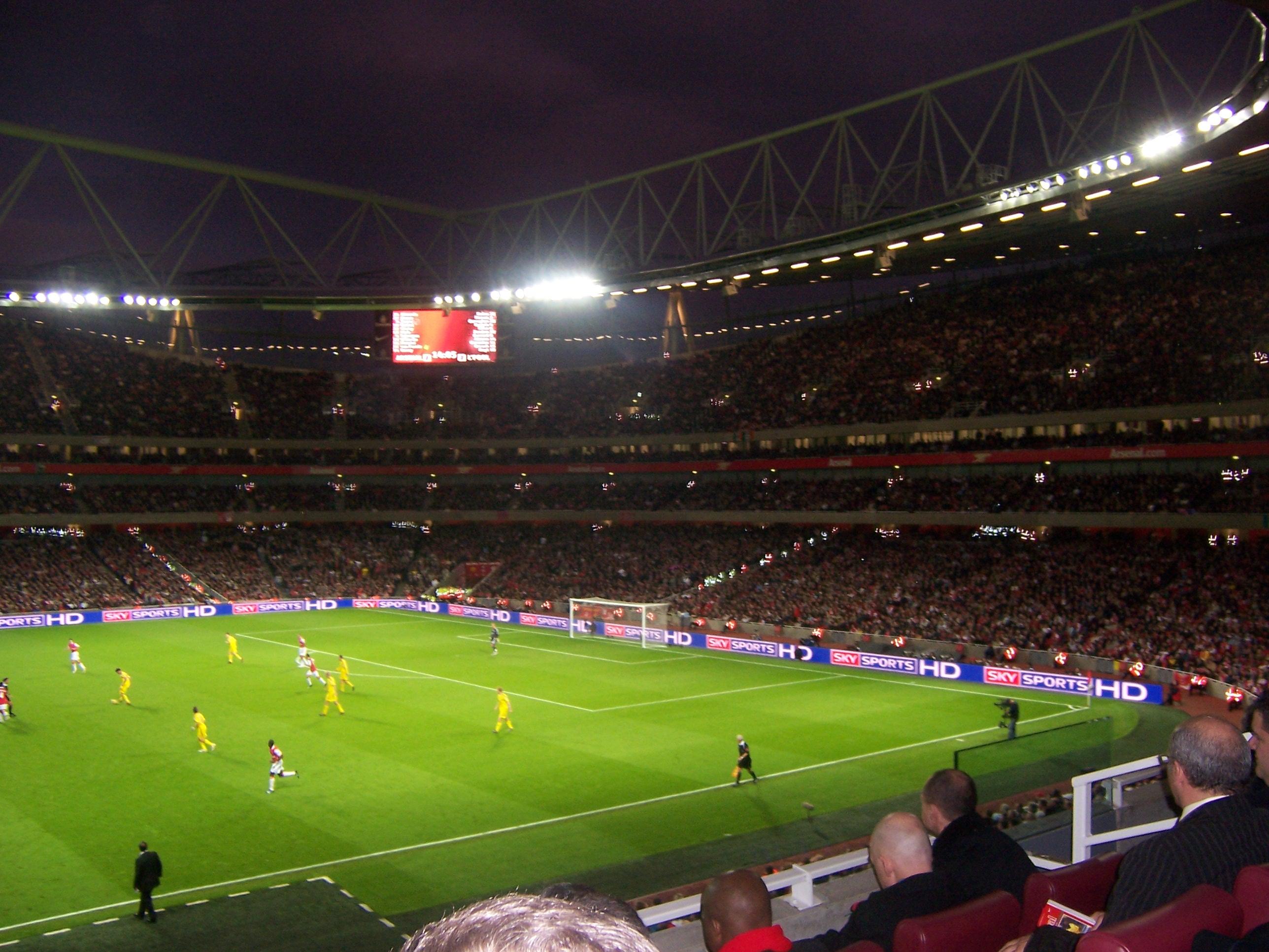 Background of the day Emirates Stadium Stadium wallpapers 2576x1932