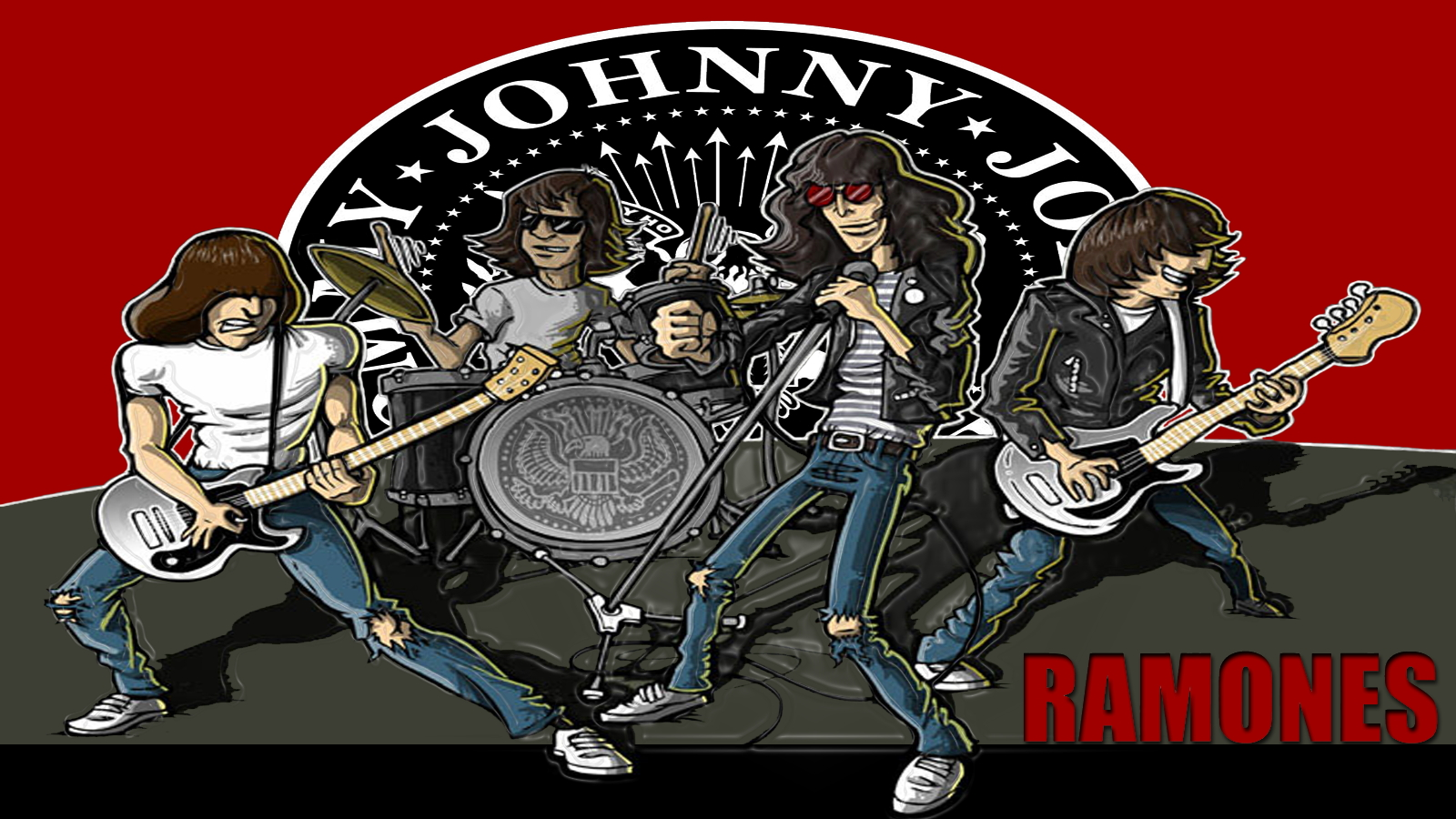 The Ramones Wallpaper WallpaperSafari