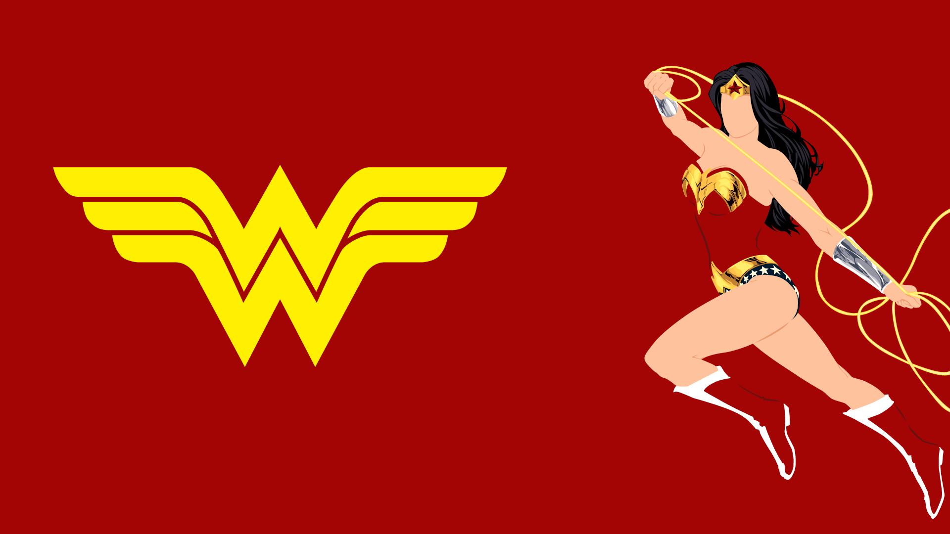 Wonder Woman Logo Wallpapers 1920x1080