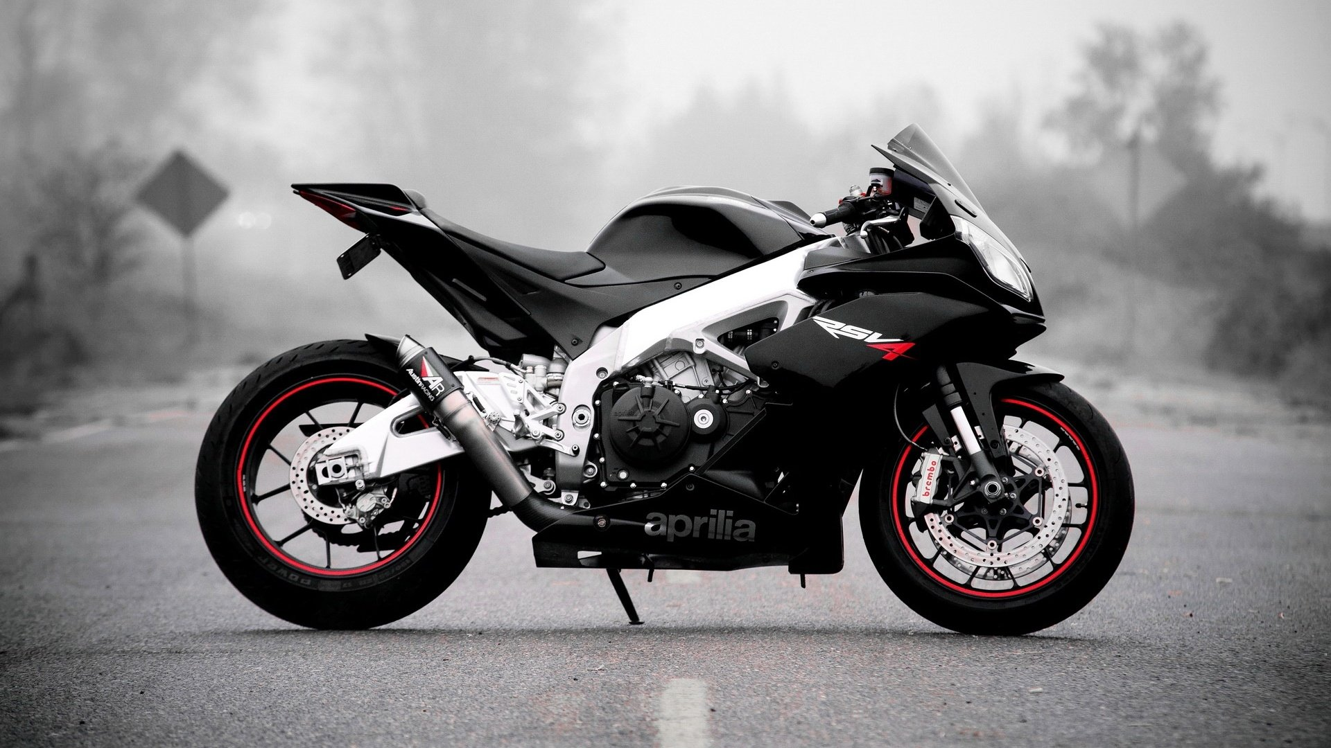 11 Aprilia RSV4 HD Wallpapers Background Images 1920x1080