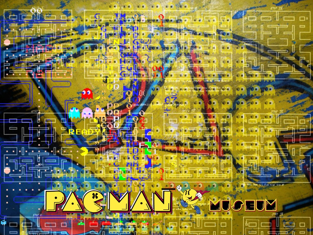 arcade machine papercraft displaying 19 images for pacman arcade 1024x768