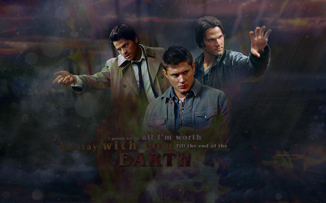 Free Download Dean Castiel And Sam Dean Castiel And Sam Wallpaper