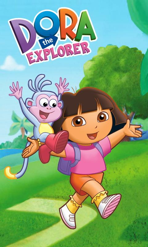 Download Dora the explorer wallpaper for android Dora the 480x800