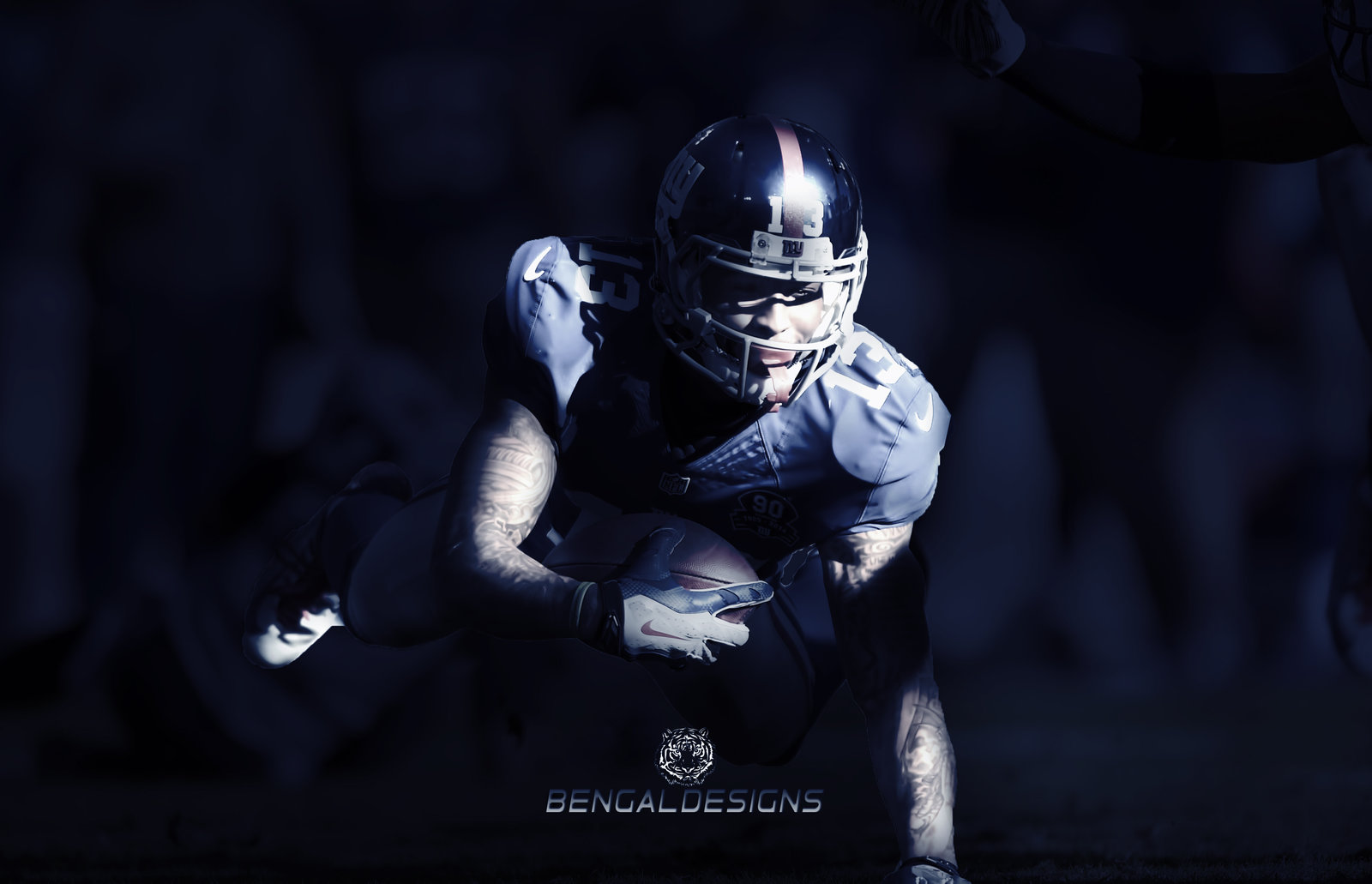 Odell Beckham Jr Wallpaper by BengalDesigns by bengalbro by bengalbro 1600x1031