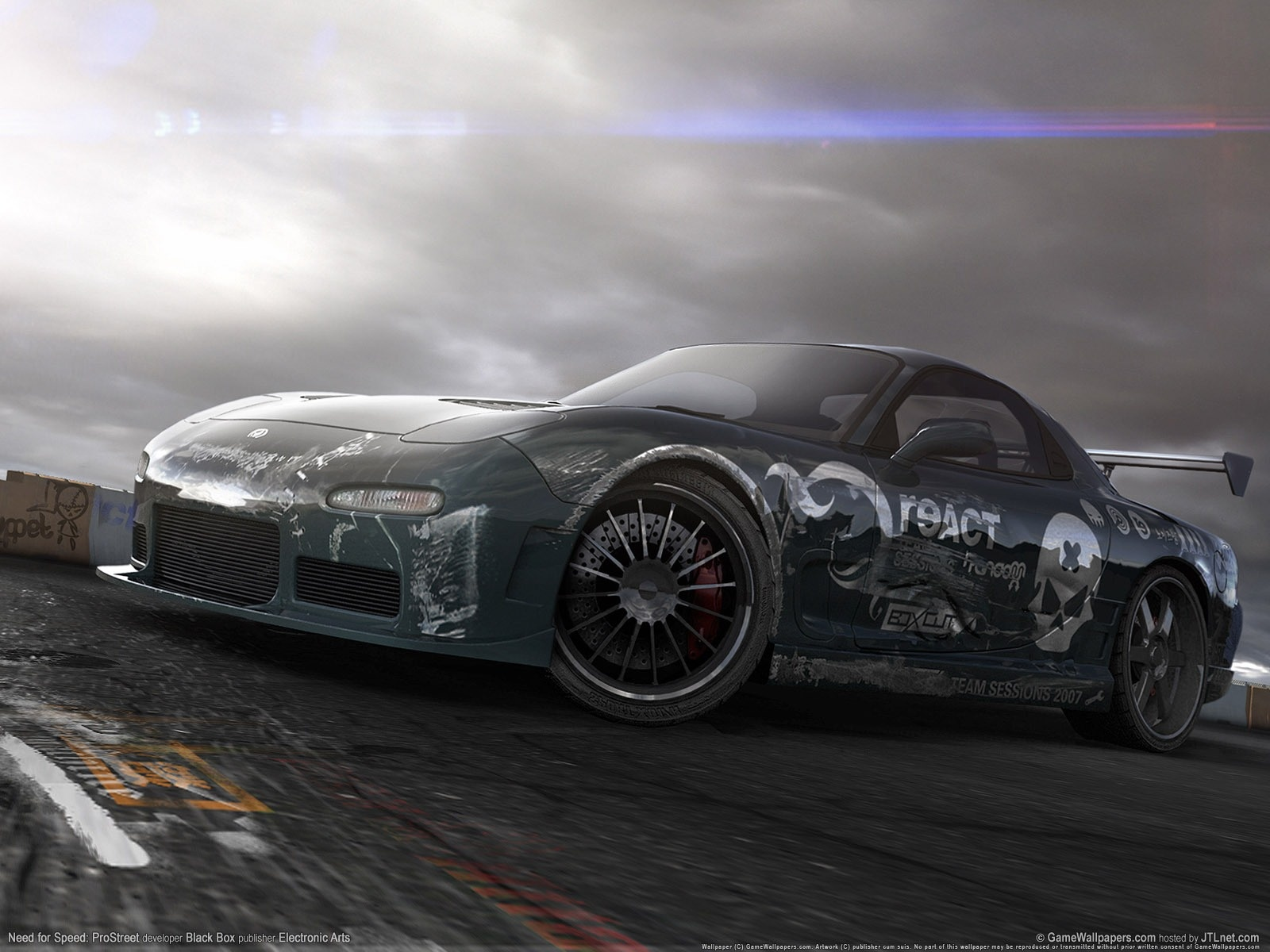 need for speed pro street wallpaper 1600x1200