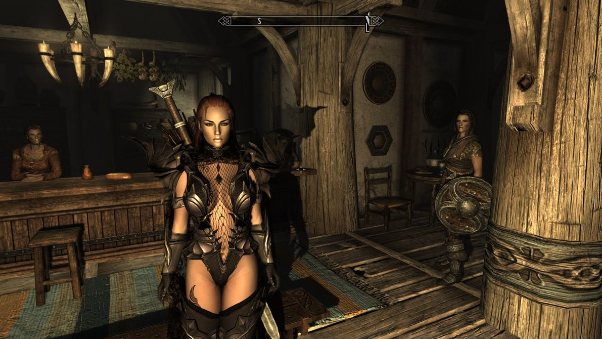 Morrowind mod female topless sexy clips