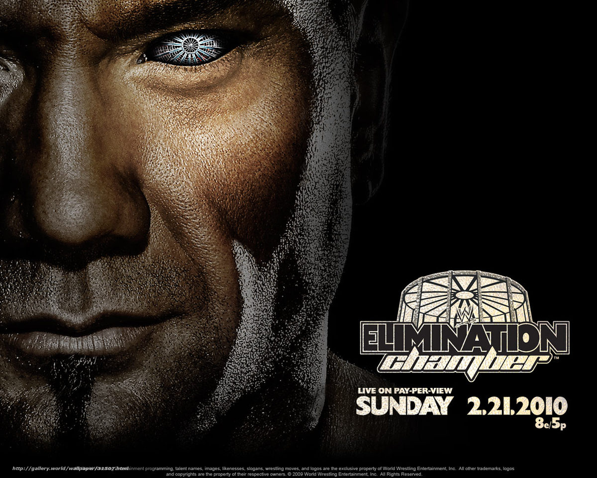 Download wallpaper WWE Elimination Chamber film movies 1200x960