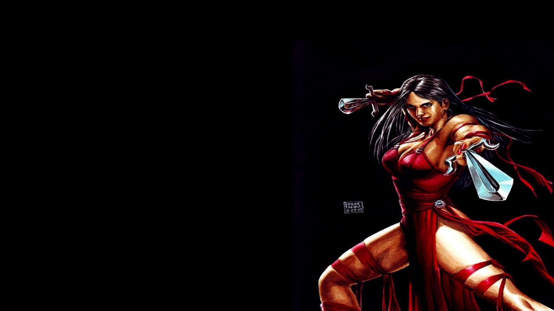 Best 49 Elektra Wallpaper on HipWallpaper Daredevil Elektra 1920x1080