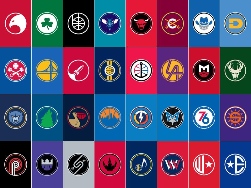 [95+] Nba Team Logos Wallpaper 2017 on WallpaperSafari