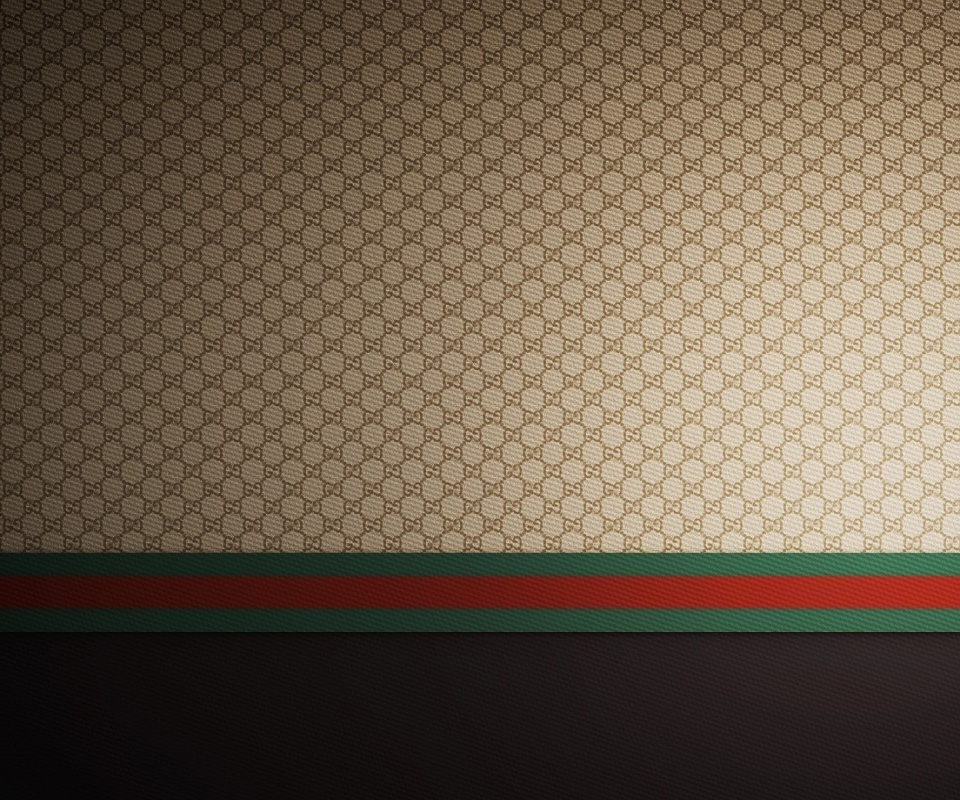 Gucci Brown Red Green Wallpaper for Phones and Tablets 960x800